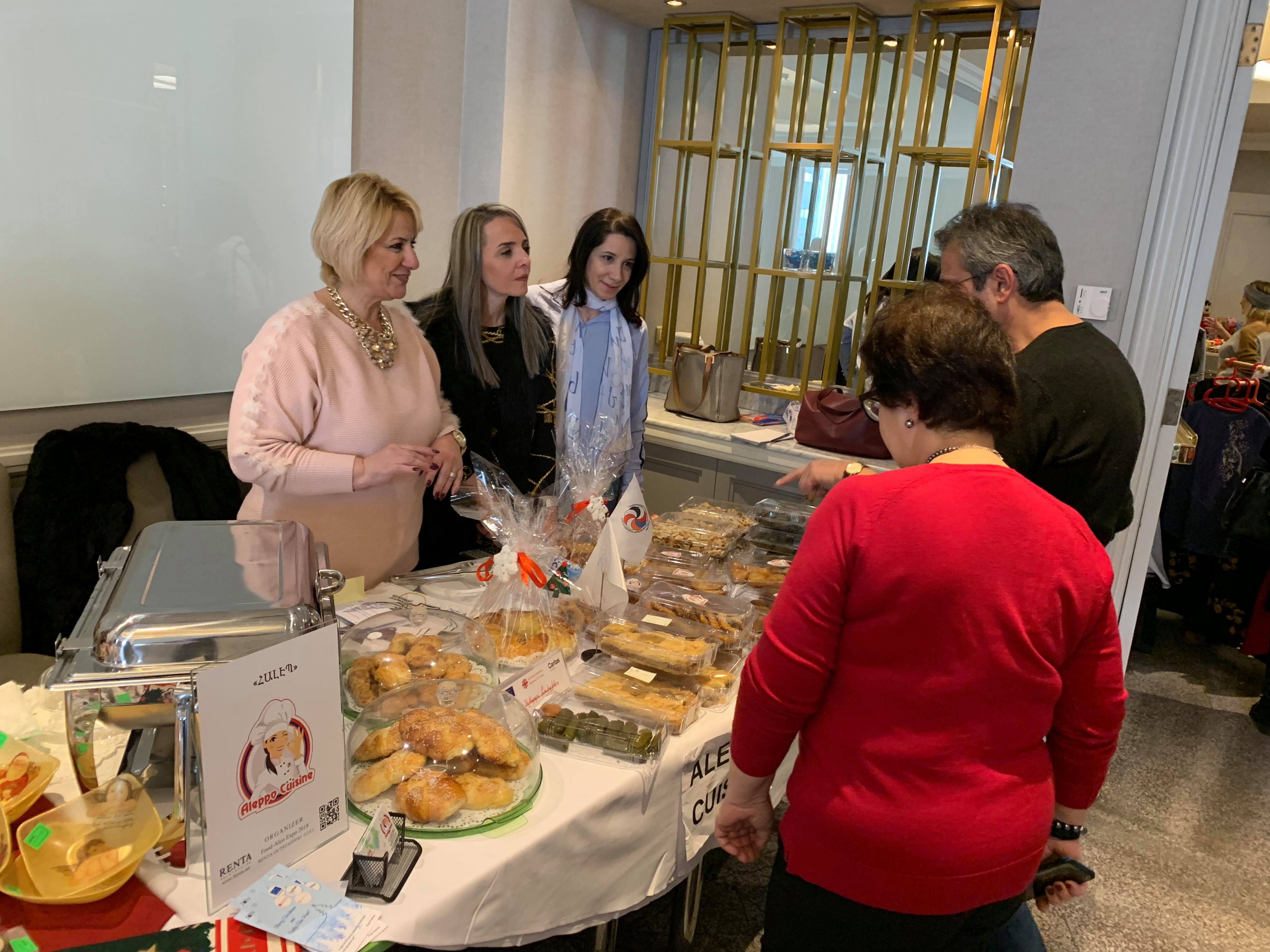 Aleppo Cuisine Center's Participation to Pre-holiday Bazaars